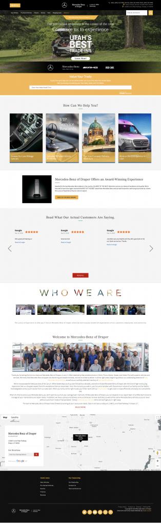 Mercedes-Benz of Draper Homepage